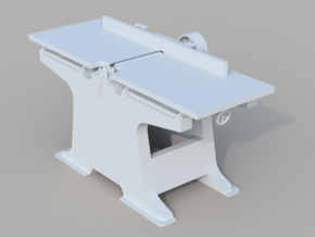 Planer/Jointer O scale in Smooth Fine Detail Plastic