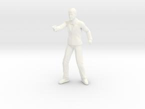 James Bond - Roger Moore 1.24 in White Processed Versatile Plastic