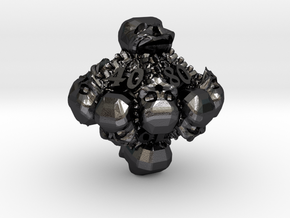 Necromancer's D00 in Polished and Bronzed Black Steel