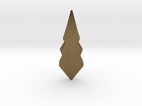 Hidden Hearts 101 ,pendant in Natural Bronze