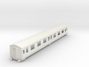 o-87-cl126-trailer-composite-coach in White Natural Versatile Plastic
