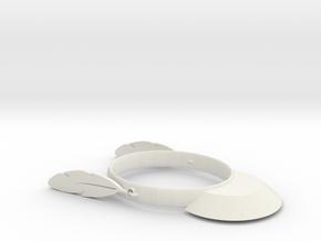 FlyHat in White Natural Versatile Plastic: Medium