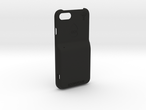 iPhone SE 2nd Gen. - LooplyCase™ + RileyLink Inlay in Black Natural Versatile Plastic