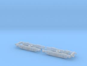BR EM1 & NS Tommy Class 76 Bogies N Gauge (1/148) in Smoothest Fine Detail Plastic: 1:148
