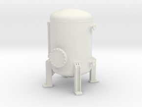 Autoclave Pressure Tank 1/100 in White Natural Versatile Plastic