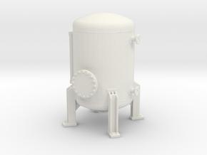 Autoclave Pressure Tank 1/87 in White Natural Versatile Plastic
