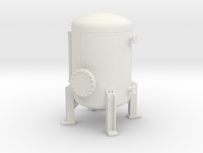 Autoclave Pressure Tank 1/56 in White Natural Versatile Plastic