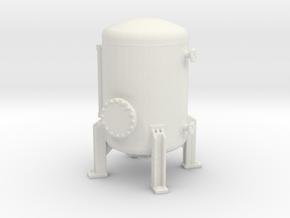 Autoclave Pressure Tank 1/120 in White Natural Versatile Plastic