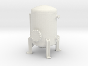 Autoclave Pressure Tank 1/144 in White Natural Versatile Plastic