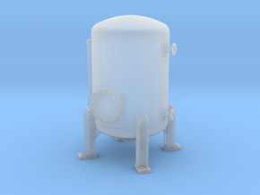 Autoclave Pressure Tank 1/160 in Smooth Fine Detail Plastic