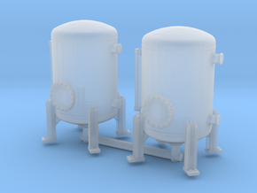 Autoclave Pressure Tank (x2) 1/200 in Smooth Fine Detail Plastic