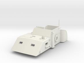 1/20 USN PT Boat 109 Main Cabin in White Natural Versatile Plastic