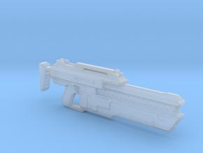 Aliens Sharp Stick assault rifle 1:6 in Smooth Fine Detail Plastic