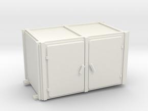 1/20 USN Pt Boat 109 Engine RM Heater Inst. in White Natural Versatile Plastic