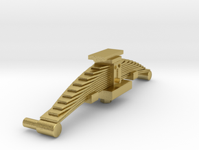 Leaf spring for SIG/MFO bogie in Natural Brass