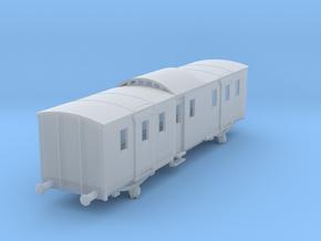 o-120fs-sncf-night-ferry-passenger-brake-van in Smooth Fine Detail Plastic