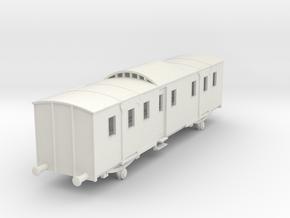 o-87-sncf-night-ferry-passenger-brake-van in White Natural Versatile Plastic