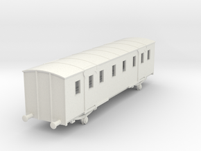 o-76-sncf-night-ferry-passenger-baggage-van in White Natural Versatile Plastic