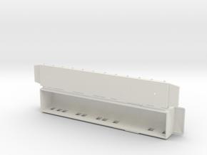 AFo1 - Swedish passenger wagon in White Natural Versatile Plastic