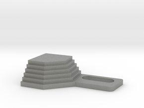 Ghostbusters Library Steps Anti-Ball Capture v1 in Gray PA12