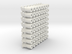 64 ganci  per Francesco  in White Natural Versatile Plastic