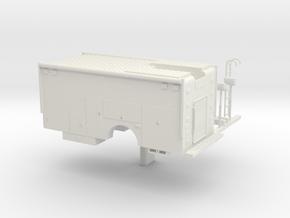 1/64 Rescue/Command body in White Natural Versatile Plastic