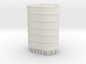 Oval Office Tower 1/285 in White Natural Versatile Plastic