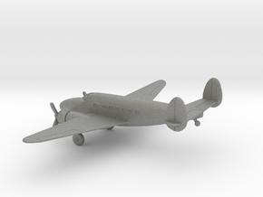 Lockheed Model 14 Super Electra in Gray PA12: 1:200