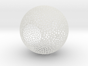 Lampshade (Sphere Vero 3) in Smooth Fine Detail Plastic