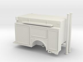 1/64 KME Camden engine body updated in White Natural Versatile Plastic