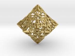 Emperor D00 in Natural Brass
