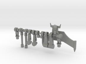 AcroSeeker in Gray PA12: Large