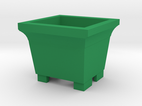 Green plant in Green Processed Versatile Plastic