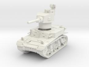 M3 Stuart early 1/87 in White Natural Versatile Plastic