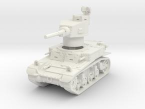M3 Stuart early 1/76 in White Natural Versatile Plastic