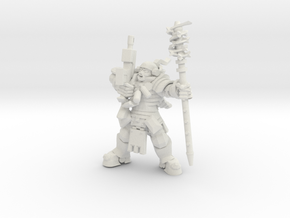 Astroknight Corporal in White Natural Versatile Plastic