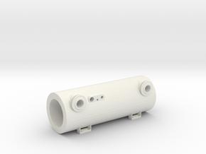 "3/4"" Scale Elesco Feed Water Heater Bundle in White Natural Versatile Plastic"