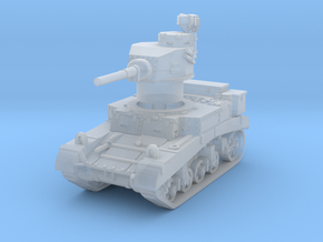 M3 Stuart early UK 1/160 in Smooth Fine Detail Plastic