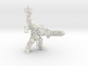 Destroyer Swordsman in White Natural Versatile Plastic