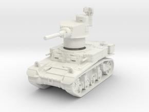 M3 Stuart mid 1/87 in White Natural Versatile Plastic
