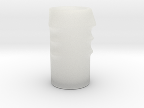 Knucklistic Vessel in Smooth Fine Detail Plastic