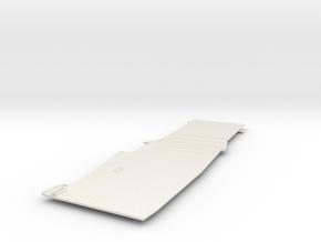 1/700 CVS-11 USS Intrepid Flight Deck Rear in White Natural Versatile Plastic