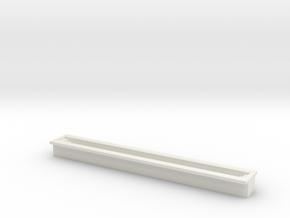 Train Inspection Pit 1/72 in White Natural Versatile Plastic