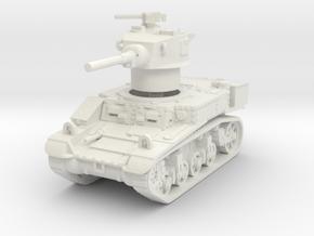 M3 Stuart Hybrid 1/76 in White Natural Versatile Plastic