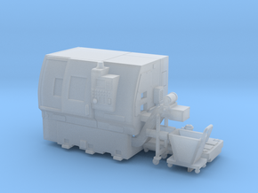 1/64 CNC lathe in Smooth Fine Detail Plastic