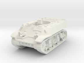 M3A3 Stuart Recce 1/87 in White Natural Versatile Plastic