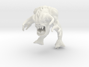 Doom Pinky Demon in White Natural Versatile Plastic