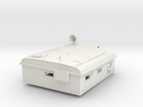1/16 USN PT Boat 109 Day Cabin in White Natural Versatile Plastic