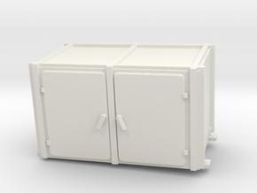 1/16 USN Pt Boat 109 Engine Room Heater Inst. in White Natural Versatile Plastic