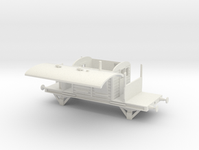 SR Brakevan in White Natural Versatile Plastic